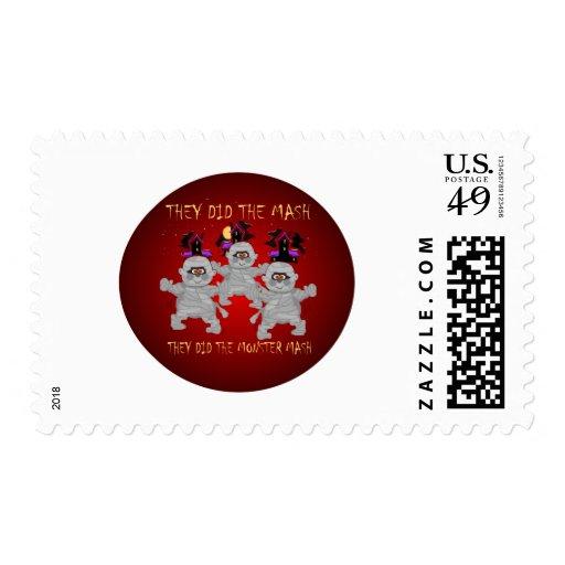 Monster Mash Stamps