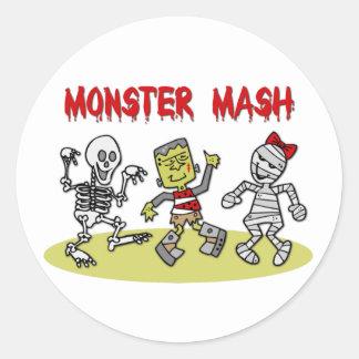 Monster Mash stickers
