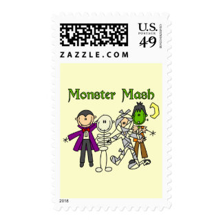 Monster Mash T-shirts and Gifts Postage Stamps
