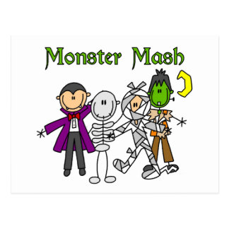 Monster Mash T-shirts and Gifts Postcard