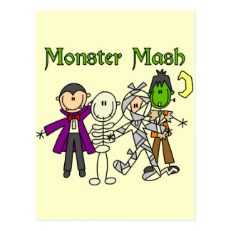 Monster Mash T-shirts and Gifts Postcards