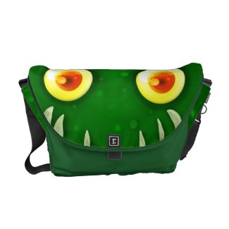 Monster messenger bag