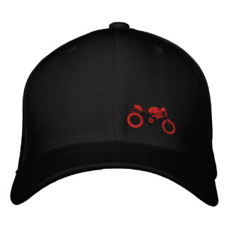 Monster moto hat embroidered hat