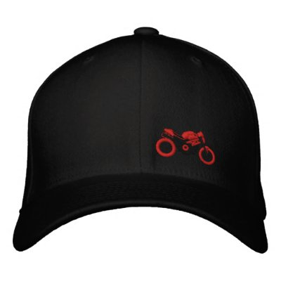 Monster moto hat embroidered hats