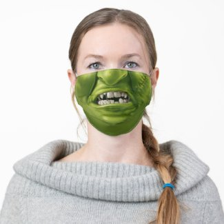 Monster Mouth Fun Horror Halloween Funny Face Cloth Face Mask