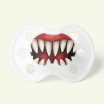 Monster Mouth - funny Halloween Baby Pacifier