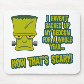 Monster - No GEDCOM Backup Mouse Pad