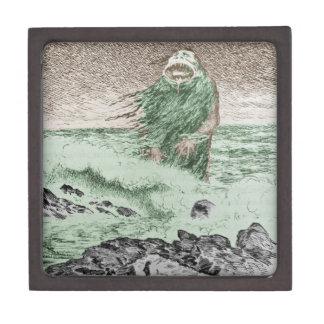 Monster Nokken Walking Out of the Water Keepsake Box