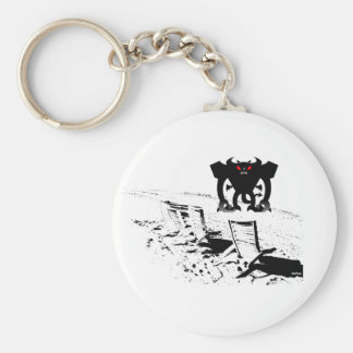 Monster on Land Keychain