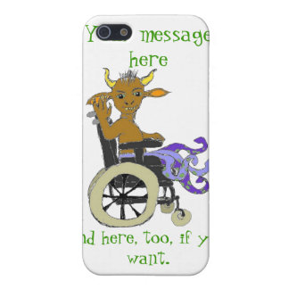 Monster on wheels -- your message iPhone SE/5/5s cover