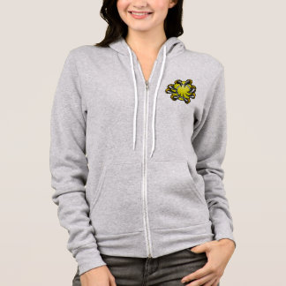 Monster or animal claw holding Tennis Ball Hoodie