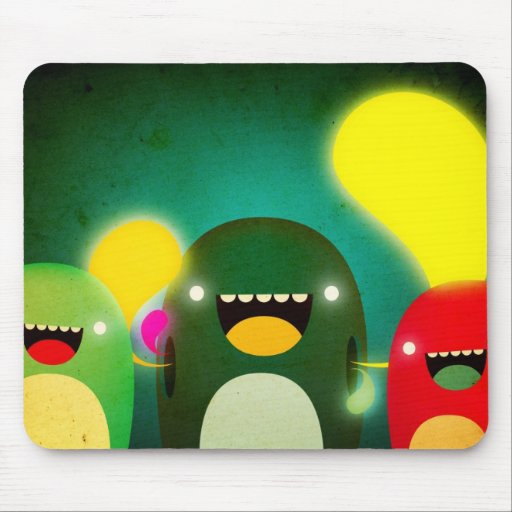 Monster pad mouse pad