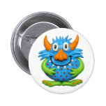 Monster Party 2 Inch Round Button