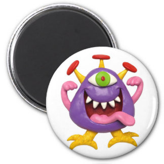 Monster Party 2 Inch Round Magnet