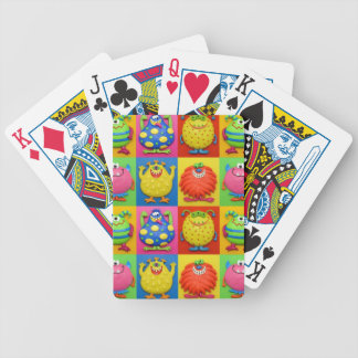 Monster Party Bicycle Playing Cards