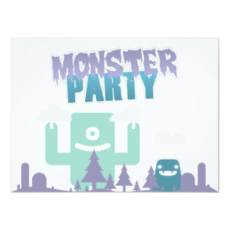 Monster Party Invitation! Card