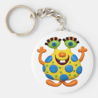Monster Party Key Chain