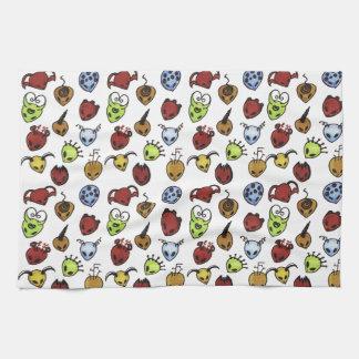 Monster Pattern kitchen towel