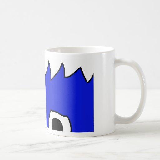 monster peek mug