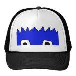 monster peek trucker hat