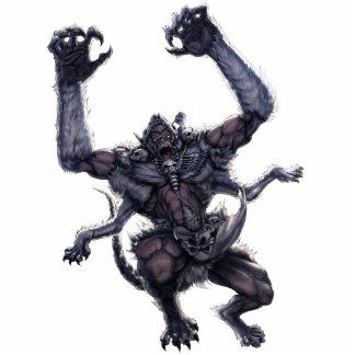Monster Photo Sculpture - Wendigo