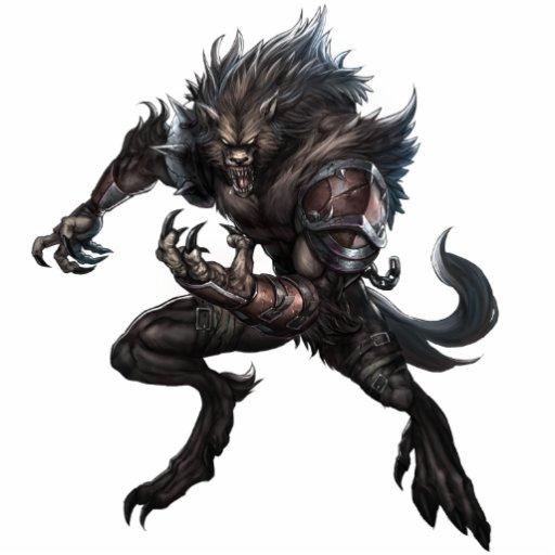 Monster Photo Sculpture Werewolf Zazzle