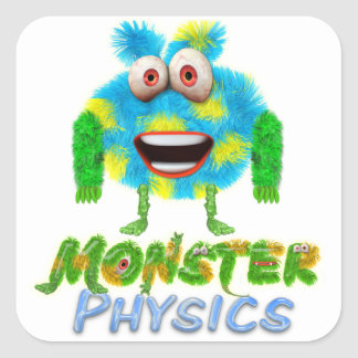 Monster Physics Stickers