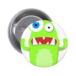 Monster Pinback Button