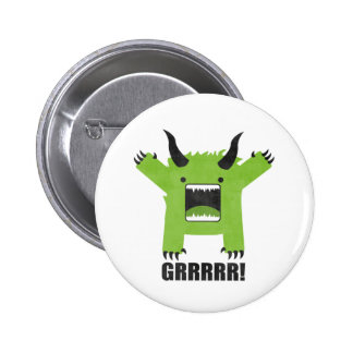 monster pinback button