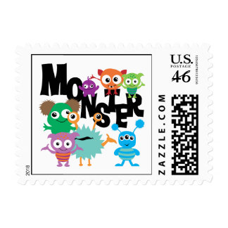 Monster Postage Stamps