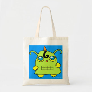 Monster Potato Robot Blue Bag