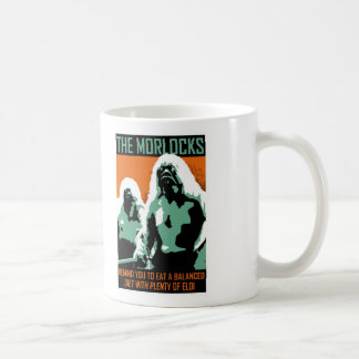 Monster PSA - Morlocks Classic White Coffee Mug