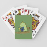 "Monster Reading - Playing Cards<br><div class=""desc"">Play your favorite card games with this deck of cards featuring an intellectual monster.</div>"