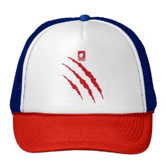 Monster (red) trucker hat