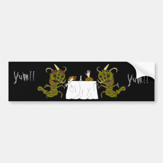 Monster Romance Car Bumper Sticker