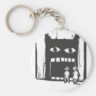 Monster Shadow Keychain