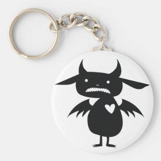 Monster Silhouette Keychain