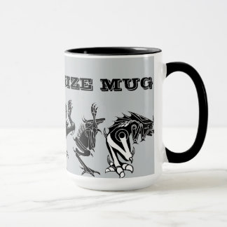 """Monster Size"" Mug"