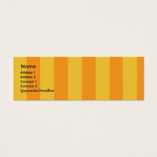 Monster - Skinny Mini Business Card