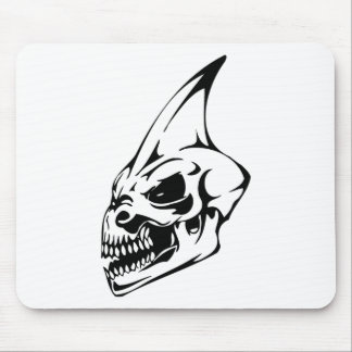 Monster Skull Mouse Pad