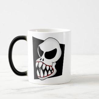 MONSTER Skull mug