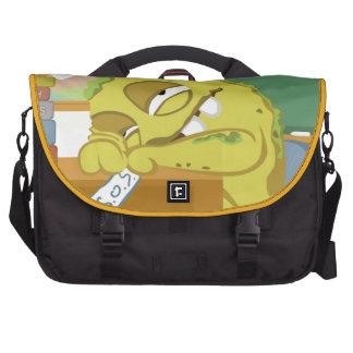 Monster SNOERG from my monster series Laptop Commuter Bag