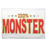Monster Star Tag Placemats