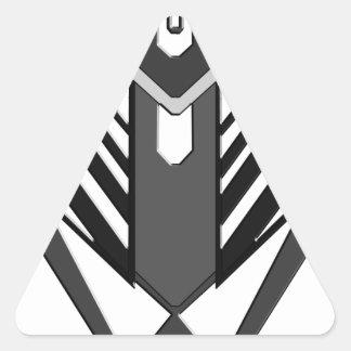 Monster Triangle Sticker