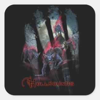 Monster Stickers - Hellhounds