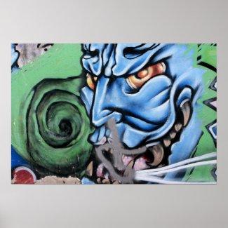 Monster Street Art of Las Palmas