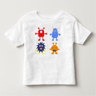 Monster Themed Toddler Fine Jersey T-Shirt