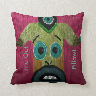 Monster Time Out Pillow