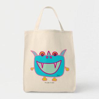 Monster Tofu Blue Pink Bag