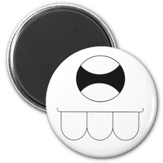 Monster Toof 2 Inch Round Magnet